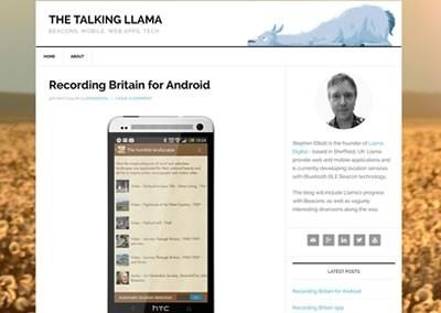 The Talking Llama